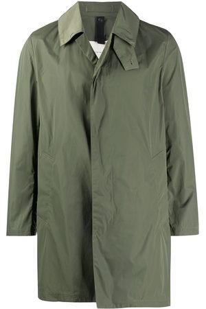 MACKINTOSH Men Coats - LONDON single-breasted car coat