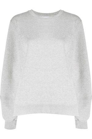 Ganni Isola puff-sleeve sweatshirt - Grey