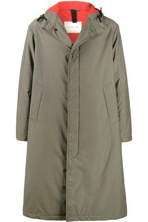 MACKINTOSH Men Parkas - FIRENZE single-breasted parka coat