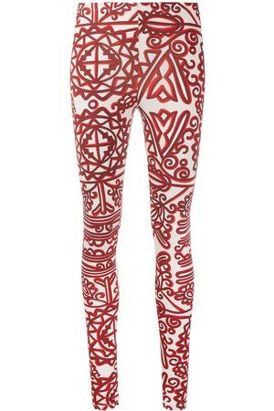 La DoubleJ Printed stretch leggings - Neutrals