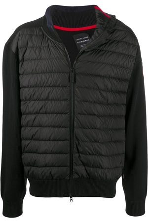 Y / PROJECT Contrasting sleeved puffer jacket