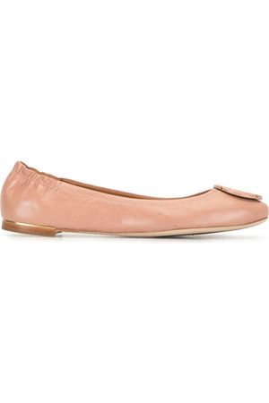 Tory Burch Women Ballerinas - Logo buckle ballerinas