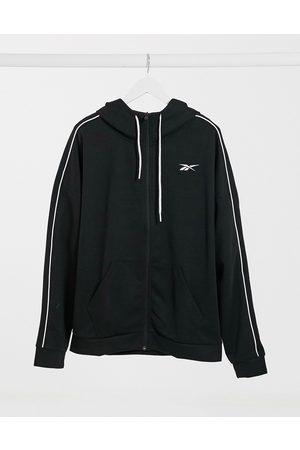 Reebok Training polyknit zip hoodie in
