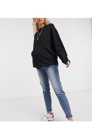 Pieces Maternity Mom jeans in
