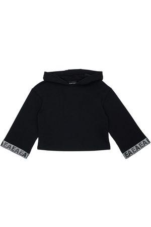 Emporio Armani Cotton Sweatshirt Hoodie