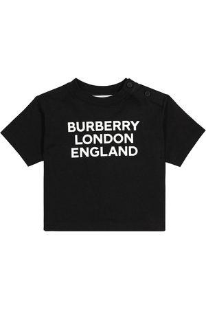 Burberry Baby logo cotton T-shirt
