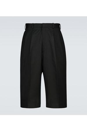 Alexander McQueen Cotton bermuda shorts