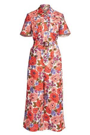 ZIMMERMANN Women Maxi Dresses - Poppy Belted Safari Jumpsuit