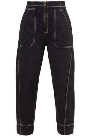 Ssone Garden Recycled-fibre Jeans - Womens