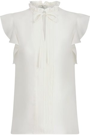 Etro Tie-neck silk blouse