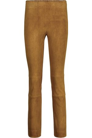 Stouls Maria Rosa suede trousers
