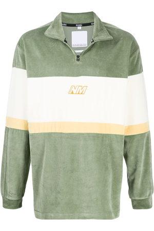 NAPA Men Sweatshirts - Colour block henley sweatshirt
