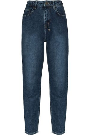 KSUBI Stonewashed tapered fit jeans
