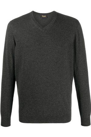 DRUMOHR V-neck sweater - Grey