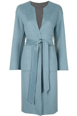 Onefifteen Women Coats - Reversible belted coat
