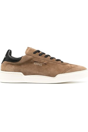 Ghoud Suede lace-up trainers