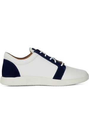 Giuseppe Zanotti Men Sneakers - Two-tone low-top sneakers