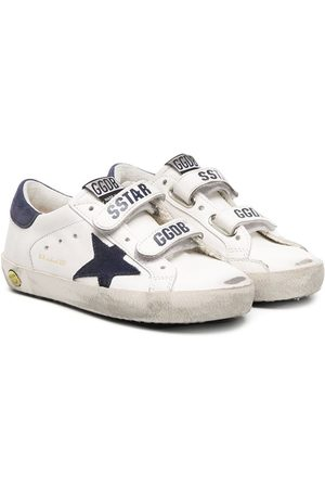 Golden Goose Boys Sneakers - Logo double strap sneakers