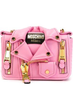 Moschino Women Shoulder Bags - Biker cross body bag