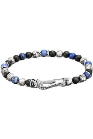 John Hardy Men Bracelets - Classic Chain bead hook clasp bracelet