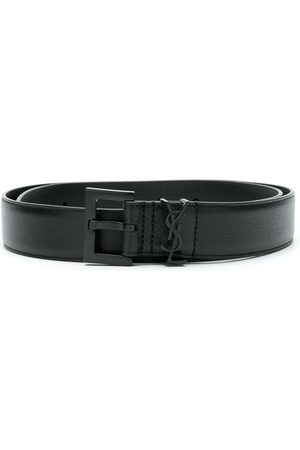 Saint Laurent Women Belts - Logo plaque belt
