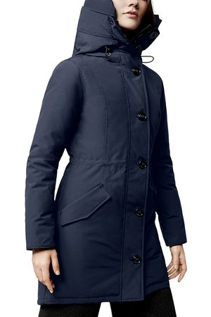 Canada Goose Women Parkas - Rossclair Hooded Down Parka