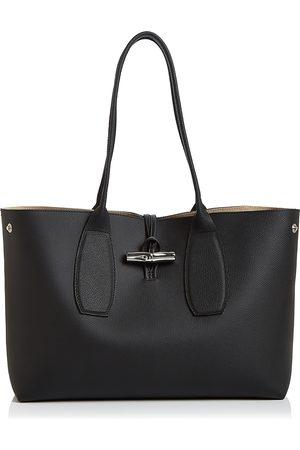 Longchamp Women Purses - Roseau Medium Leather Tote