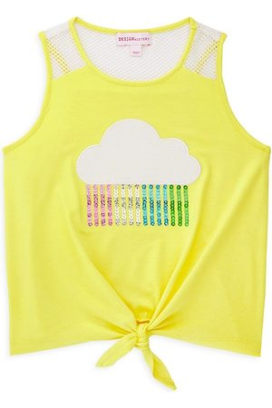 Design History Little Girl's Front Tank Top - - Size 4T