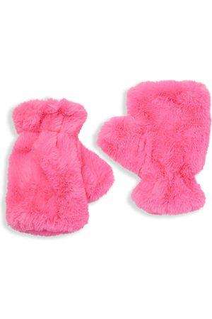 Apparis Women's Ariel Faux Fur Fingerless Gloves