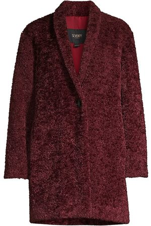 SEVENTY BY SERGIO TEGON Women's Wrap Teddy Coat - - Size 48 (12)