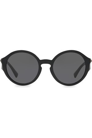 VALENTINO Women's 52MM Studded Round Sunglasses