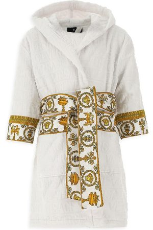 VERSACE Little Kid's & Kid's Decorative Trim Cotton Robe - - Size Small (2)