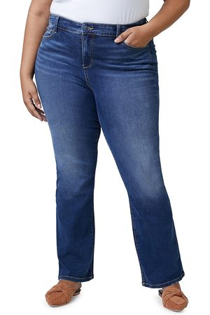 Slink Jeans Plus Women's High-Rise Bootcut Jeans - - Size 24W