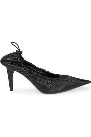 Balenciaga Women's Scrunch Leather Pumps - - Size 39 (9)