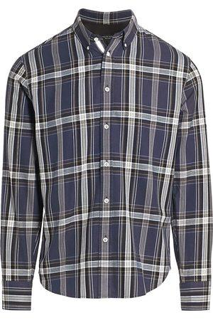 RAG&BONE Women's Fit 2 Tomlin Plaid Flannel Shirt - - Size Large