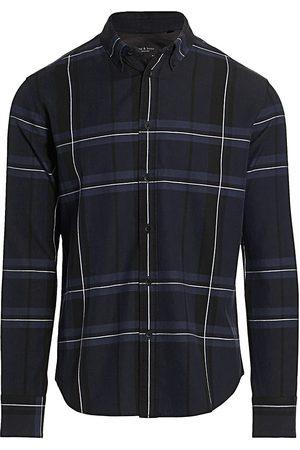 RAG&BONE Women's Fit 2 Tomlin Plaid Flannel Shirt - - Size XXL