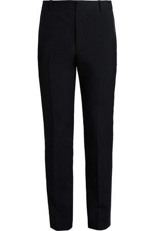 Alexander McQueen Men's Mid-Rise Slim Trousers - - Size 50 (34)