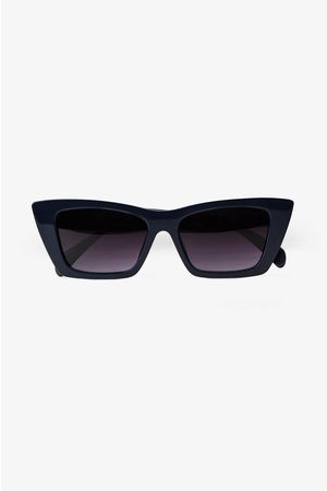 ANINE BING Levi Sunglasses in Navy