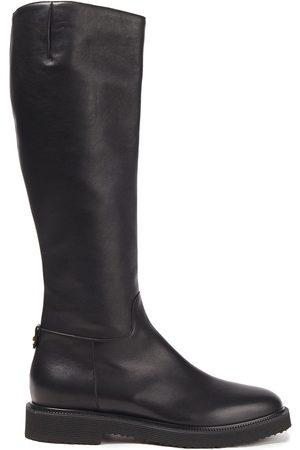 Giuseppe Zanotti Woman Hilary Leather Knee Boots Size 42