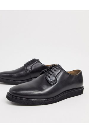 WALK LONDON Del oxford lace-up shoes in leather