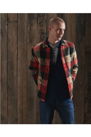 Superdry Utility Check Over Shirt