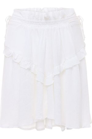 Isabel Marant Itelo Cotton & Viscose Mini Skirt