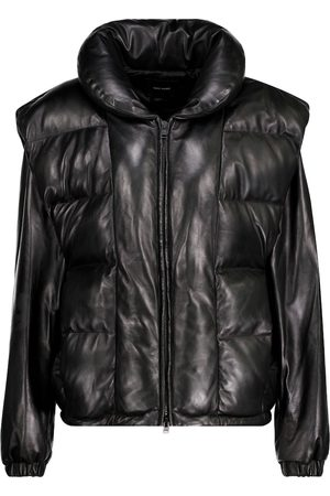 Isabel Marant Malory padded leather jacket