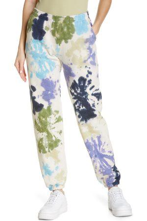 KkCo Women's Pierced Tie Dye Sweatpants