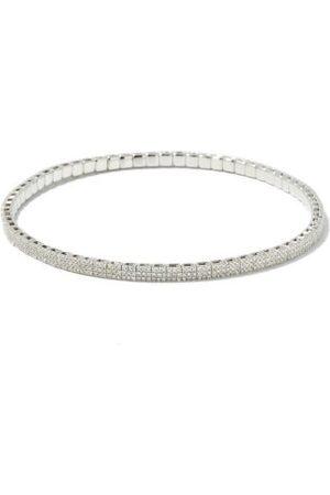 Shay Diamond & 18kt White Gold Bracelet - Mens