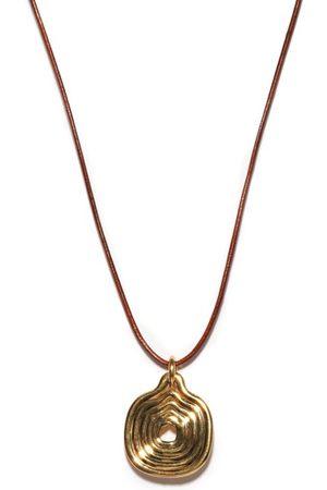 Fernando Jorge Cushioned Lines 18kt Necklace - Mens