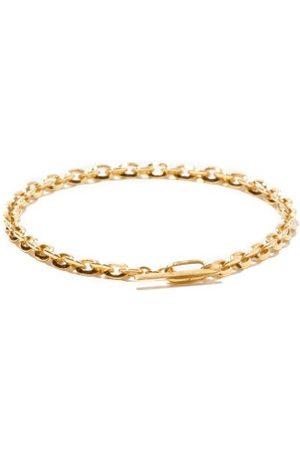 Lizzie Mandler Knife Edge 18kt Chain Bracelet - Mens