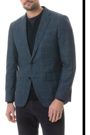 Rodd & Gunn Men's Reefton Regular Fit Check Wool Blend Sport Coat