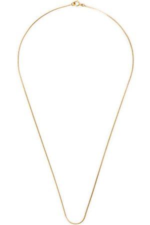 Fernando Jorge Men Necklaces - Thin 18kt Snake-chain Necklace - Mens