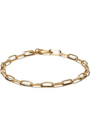 Lizzie Mandler Men Bracelets - Knife Edge 18kt Oval-link Chain Bracelet - Mens